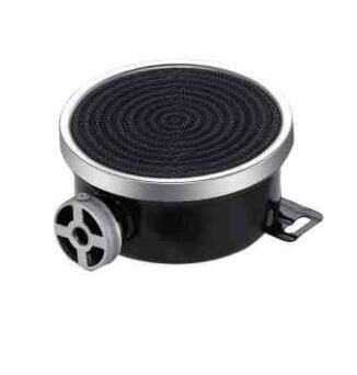 Single pipe side inlet gas infrared cooktop burner 110-200mm enamelled catalytic ceramic gas burners short pipe gas range burner