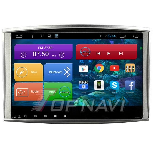 Бесплатная Доставка 10.2 ''Quad Core Android 4.4 ПК Автомобиля GPS для Toyota Land Cruiser 100 С Радио Стерео 16 ГБ Флэш-Зеркало ссылка