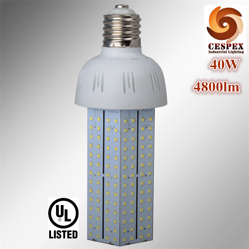 SAA PSE UL listed top quality 5 years warranty 120lm/w AC100V 110V 220V 240V E40 E39 40W LED corn bulb replace 100W fluorescent ce emc saa rohs gs ul listed commercial 100w commercial led pendant lights