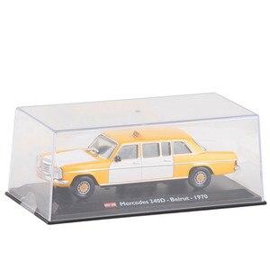 Image 2 - Высококачественная модель из ливанского сплава такси 1:43 1970, модель из металлического литья под давлением, коллекционное и Подарочное украшение, бесплатная доставка
