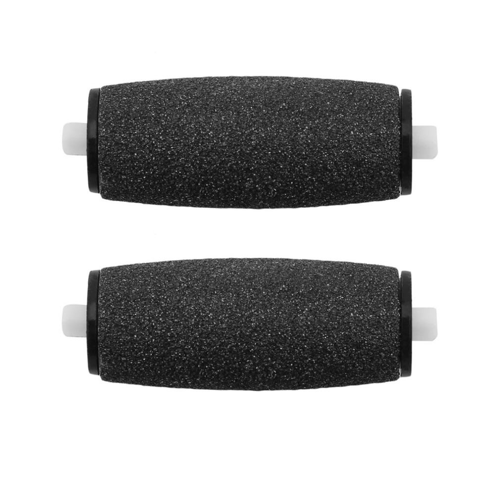 2pcs Replacements Roller Heads For Pro Pedicure Foot Care For Feet Electronic Foot File Rollers Skin Remover Accessories