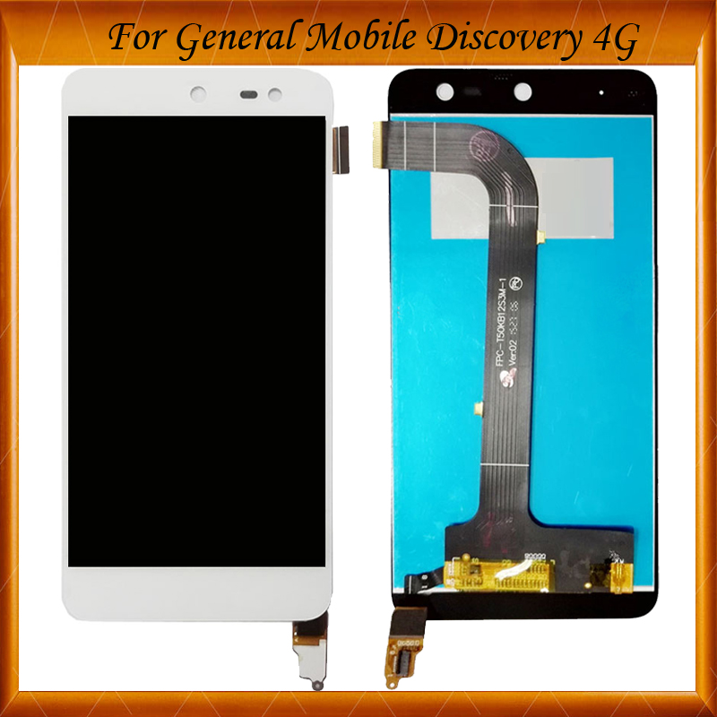 100% Tested OK For General mobile Discovery 4g LCD Replacement Digitizer Touch Screen + LCD Display Assembly IN Stock
