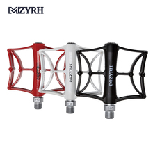 MZYRH 920 Bicycle Pedal CNC Bearing Pedals Ultralight Aluminum Alloy Wide Big Tread Hollow MTB Mountain Pedals BMX Accessories