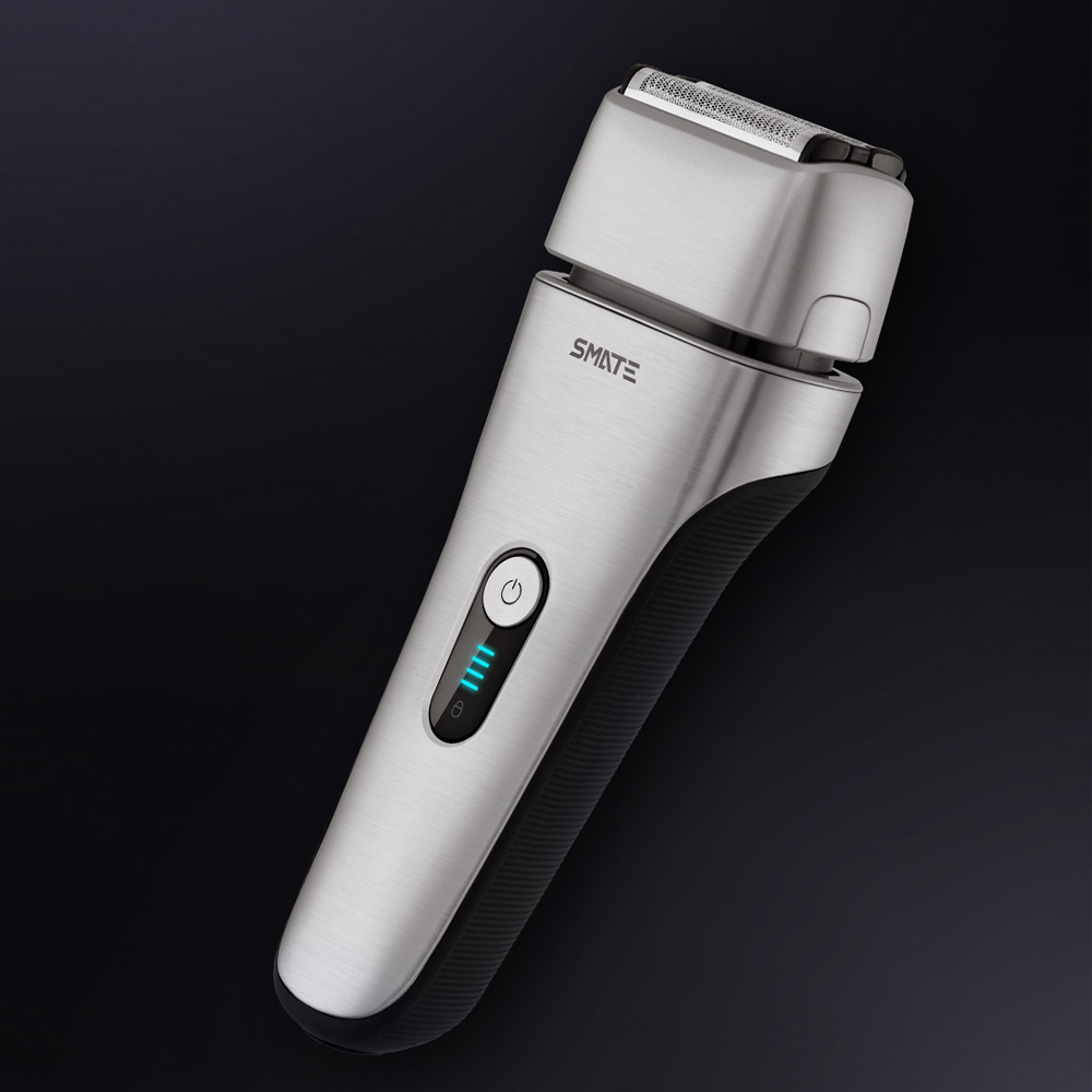Xiaomi Mijia Smate Electric Men Razor Reciprocating 4 Blade Electric i-Shaver 3 Minute Fast Charge 4-Shaver Dry/Wet Waterproof