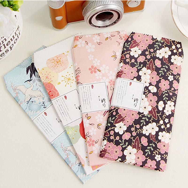 3pcs/lot Retro Flowers Envelope Writing Paper Stationery Kawaii Birthday Christmas Card Envelopes School Supplies Free Shipping