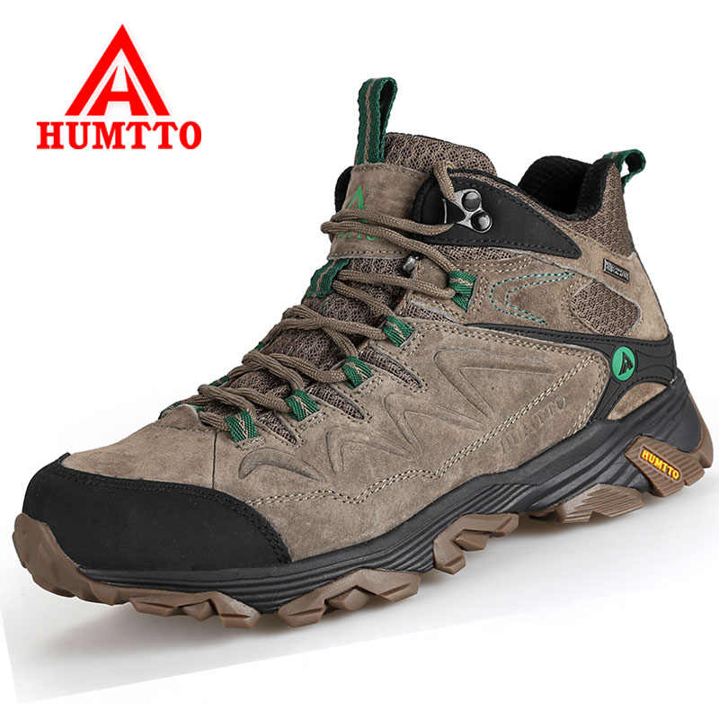 HUMTTO Winter Warm Men Hiking Boots Male Outboor Waterproof
