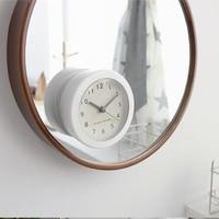 New Design Japan Silicon Bathroom Kitchen Shower Suction Clocks Waterproof Analog Silent Bathroom Clock