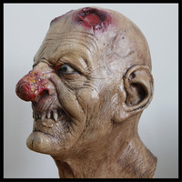 Halloween funny rotten nose monster masks party show costume latex masks and hoods