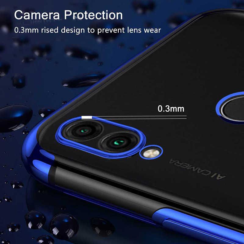 Силиконовый чехол для huawei Honor 8C Чехол защитный бампер крышка прозрачное покрытие чехол для Honor 8C/huawei P Smart Plus чехол
