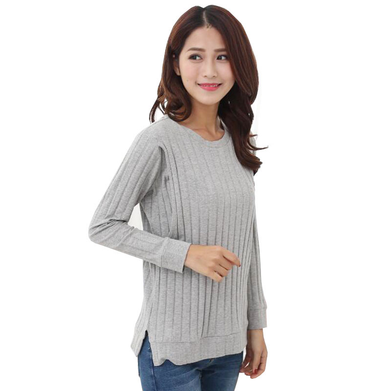 a436fda3e9 Nursing Tops Breastfeeding Cotton Wear Blouses Maternity Clothing Plus Size Pregnant  Women Nurse T Shirts Pregnancy Clothes