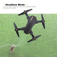 Utoghter X39 1 Mini FPV Foldable Drone Smart RC Quadcopter with Altitude Hold Headless Mode 3D Flips RC Helicopter Model RC Toy
