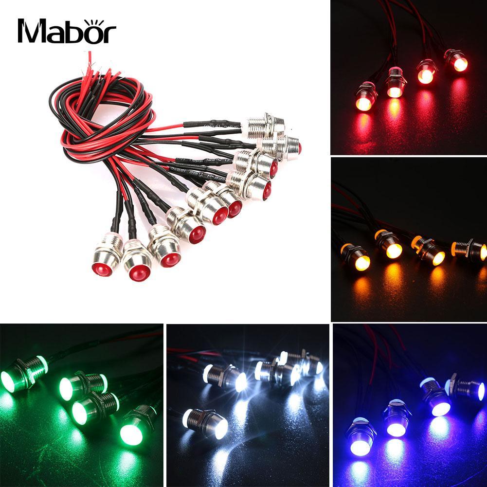 10pcs lot led bulb flexible home dc 24v lighting fixture 5 color car lamp household home decoration