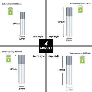 Image 2 - USB Rechargeable Simple creative LED Flashlight Aluminum alloy Focus 3 lighting modes 200 meters illumination distance
