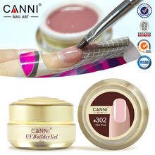 CANNI New Nail Art Design 25 Colors Semi And Solid Transparent Color Camouflage Jelly Color UV Builder Extend Nail gGels