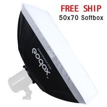 "Godox 20 ""x 27″/50×70 cm Softbox Caixa Macia com o Monte Universal para Photo Studio Flash Strobe"