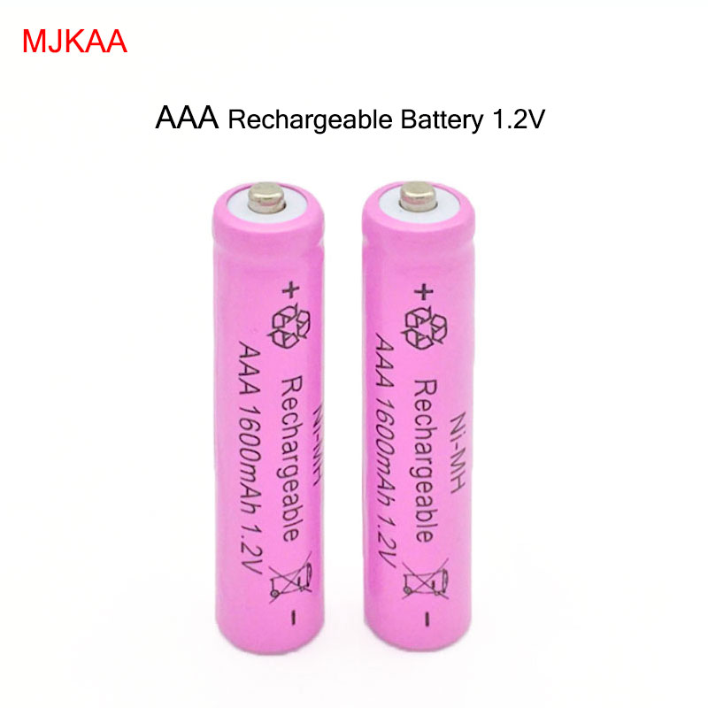20pcs lot For Camera Toys AAA 1600mAh NI MH 1 2V Rechargeable Battery AAA Battery 3A