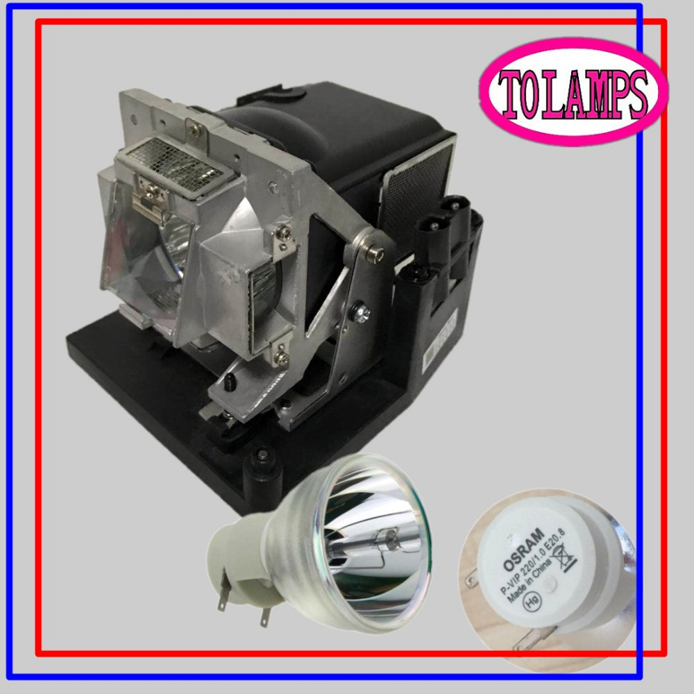 Original Projector Lamp For Vivitek D795WT Bulb With Housing P-VIP 220/0.8 E20.8 цена