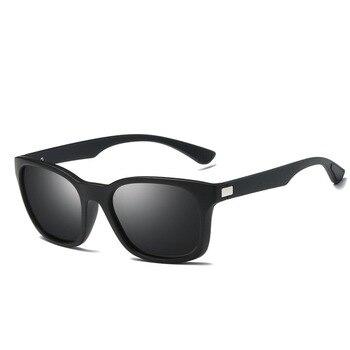 Винтажные алюминиевые солнцезащитные очки с поляризацией, в стиле унисекс