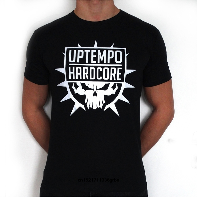 Men T shirt Uptempo Hardcore Graphic Tee Cool Tops O Neck T Shirts for funny t-shirt novelty tshirt women