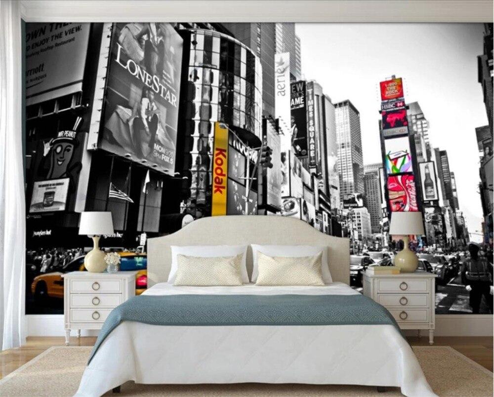 Beibehang Custom Large Wallpaper 3d Stereo Photo Vintage