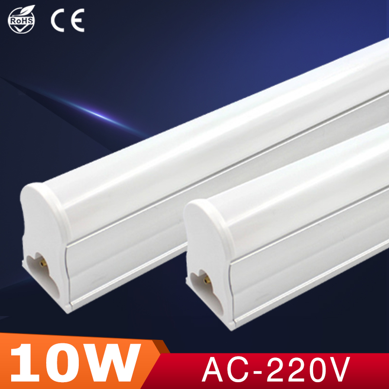lampada led lamp 220v T5 led tube light 10W led energy saving lamp 600mm tubo fluorescent  led SMD2835 lampada de led para casa