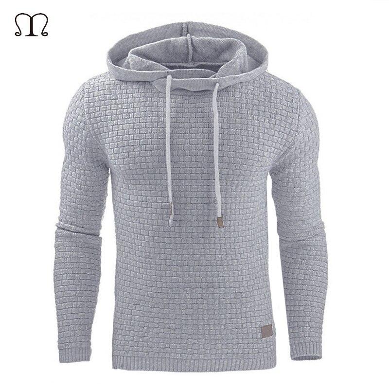 Hoodies Men Sweatshirts Casual Hip Hop Male Long Sleeve Solid Hooded Sweatshirt Men Pullover Hoodie Tracksuit Sweat Streetwear
