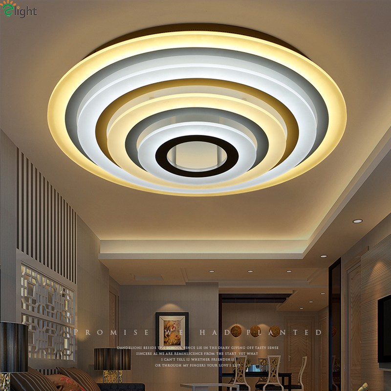 Ceiling Lights New Ceiling Lamp For Living Room Surface Mounted Ceiling Lights Modern Lamp Ceiling Acryl Led Living Room Lights Delicious In Taste Ceiling Lights & Fans