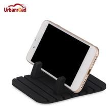 Универсальный автомобильный держатель для телефона, силиконовый держатель для мобильного телефона, подставка, Настольный кронштейн, поддержка gps для iPhone 7 6 Plus для samsung