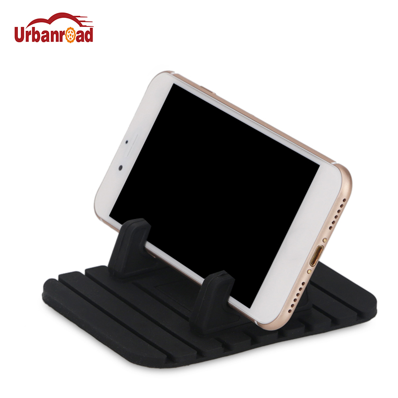 Universal Car Phone Holder Silicone Mobile Phone Holder Mount Stand Desk Bracket Support GPS For iPhone 7 6 Plus for Samsung