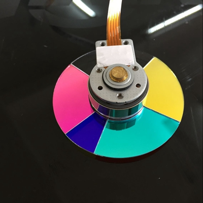 5 segmento 45 mm projector color wheel for Vivitek D941VX projector