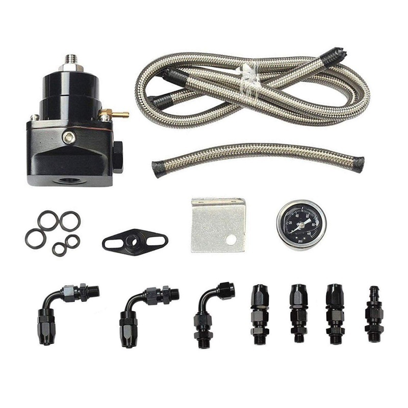 Ernst Universal Einstellbare Kraftstoff Druckregler Kit Öl 0-100psi Gauge-6an An6 Weitere Rabatte üBerraschungen