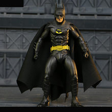 NECA 1989 Batman Michael Keaton 25th Anniversary PVC Action Figure Collectible Modelo Toy(China)