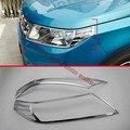 ABS Chrome Farol Tampa Da Lâmpada Guarnição Para Suzuki VITARA 2015 2016