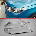 ABS Chrome Headlight Lamp Cover Trim For Suzuki VITARA 2015 2016