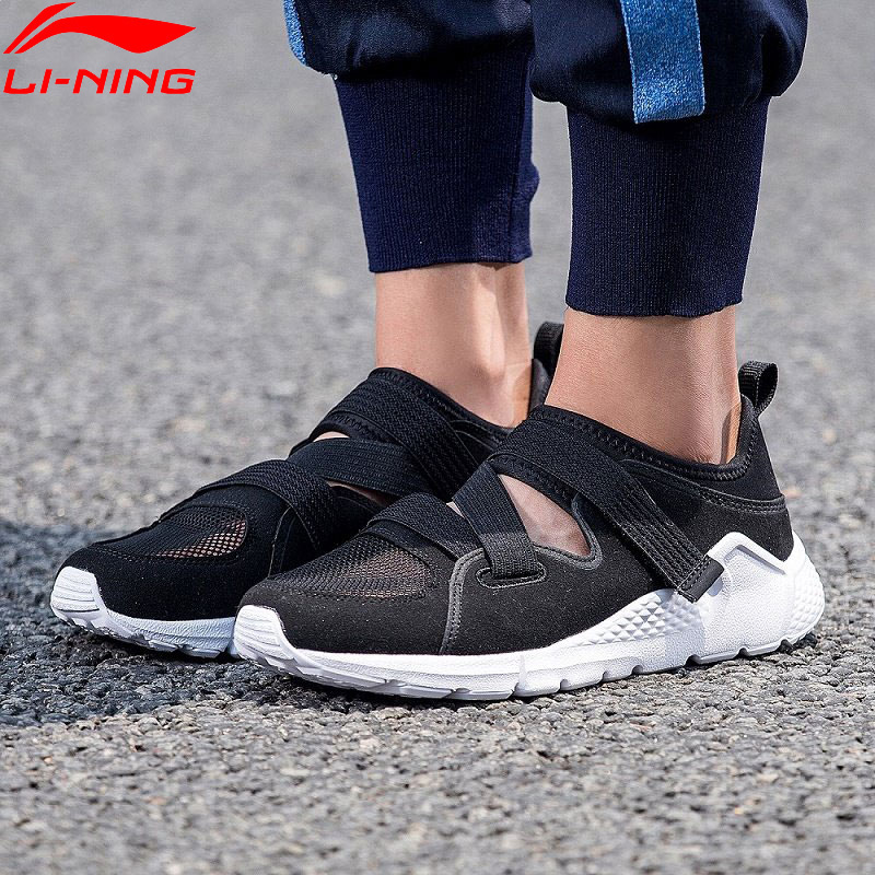 Li Ning Women LN ATHENA Walking Shoes Light Wearable LiNing Comfort Sports Shoes Fitness Sneakers AGLN032