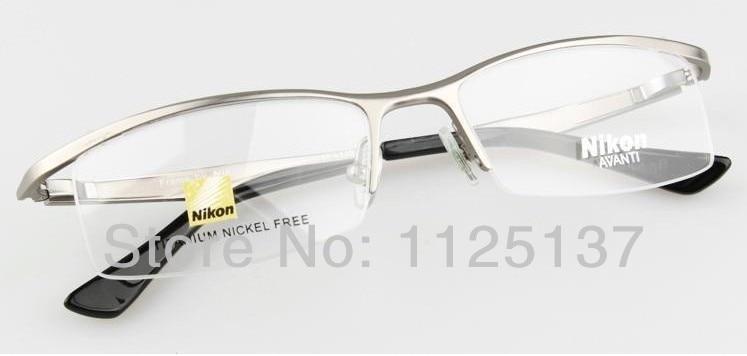 48990ba6d9ea Free shipping glasses frame oculos de grau femininos AV9880 titanium nikon  eyeglasses frames for eye box oculos fashion glasses-in Eyewear Frames from  ...