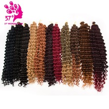 Dream Diana Deep Wave Pre-loop Synthetic Crochet Braid Hair Twists Braiding Extension 20inch 80G