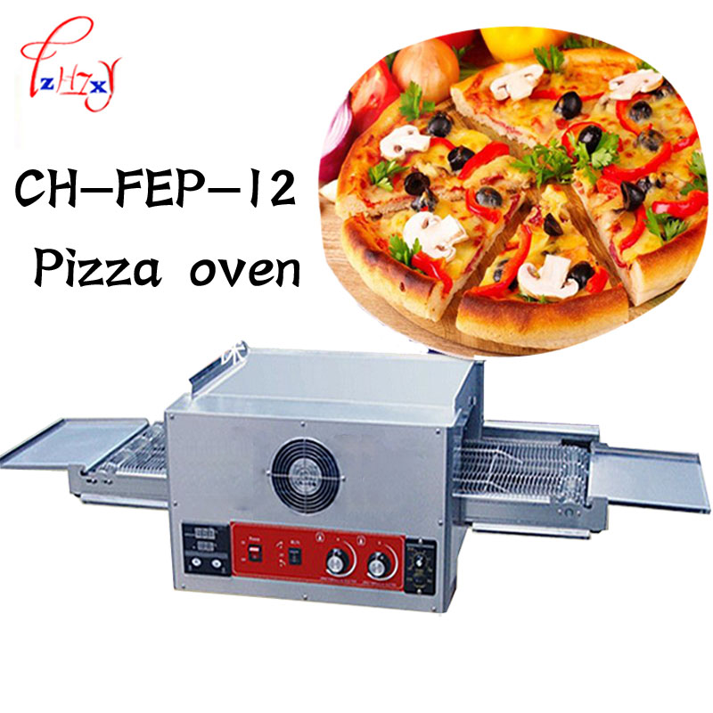 Commercial Pizza Oven Electric Baking Oven Bake Large Dispenser cake bread Pizza Oven 12 Chain 220 V 6700 W 1 pcs