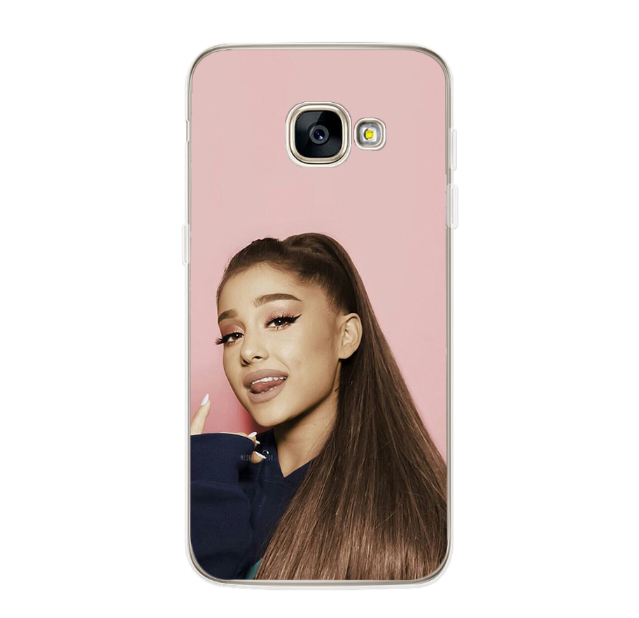 ciciber For Samsung Galaxy A5 2016 A3 A7 2017 A6S A8 Plus 2018 A8 A9 2018 PRO Soft TPU Phone Case Star Ariana Grande Fundas Capa in Fitted Cases from Cellphones Telecommunications