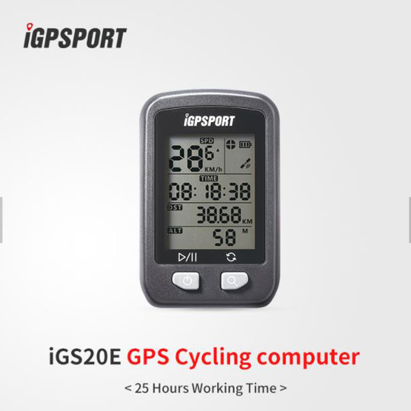iGS20 gps cycle computer iGS20E from iGPSPORT fixie bike accessories ANT+ IPX6 waterproof