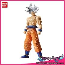 Genuine BANDAI GEISTERN Figur aufstieg Standard Montage Dragon Ball SUPER Son Goku (Ultra Instinct) kunststoff Modell Action Figure