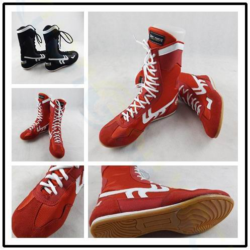 Sanda Martial arts wrestling shoes for men women training shoes rubber outsole lace up boots sneakers professional boxing shoesSanda Martial arts wrestling shoes for men women training shoes rubber outsole lace up boots sneakers professional boxing shoes