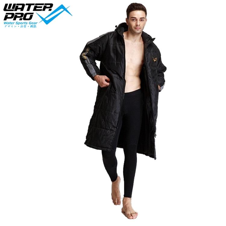 US $98.0 |Wasser Pro Schwimmen Warme Parka Wasserdicht Winddicht Warmen Mantel für Erwachsene & Kinder Wassersport Schwimmen Parka in Ausschlagsweste
