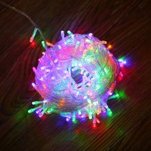 JUNJUE LED String Light Christmas Lights Indoor Outdoor Xmas Tree Decoration 100 Waterproof Holiday Garland Fairy Style Lamp(China)