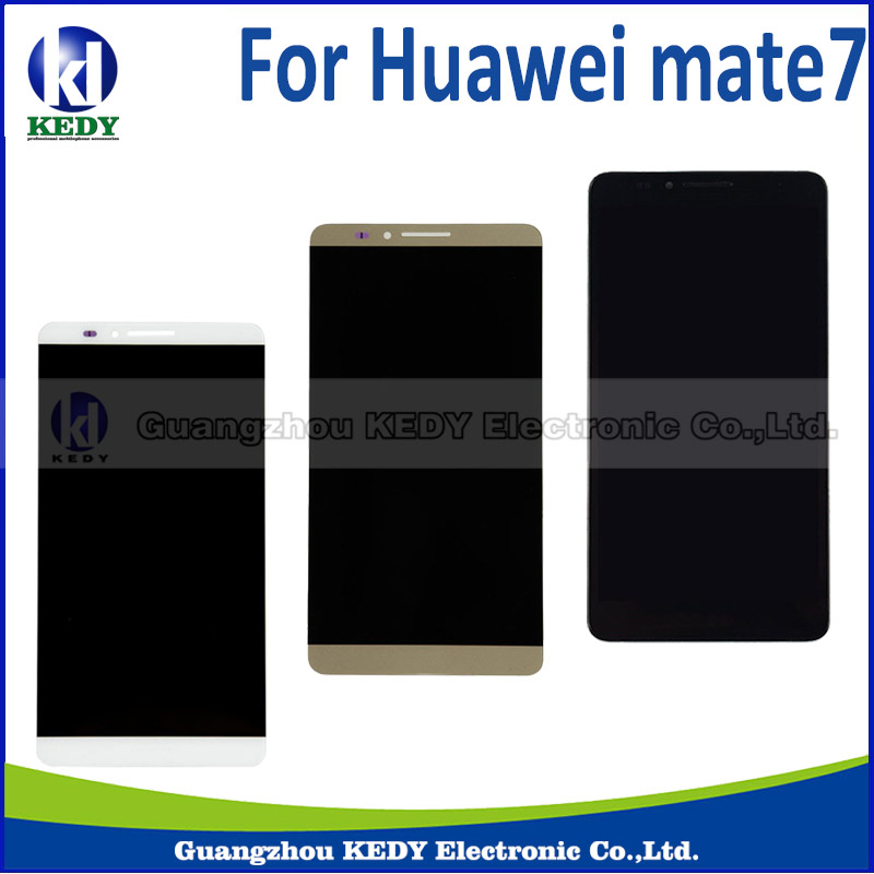 ФОТО 1pcs 5.5 inch For Huawei Mate 7 LCD DIsplay + Touch Screen Digitizer Assembly for huawei Mate 7 repair
