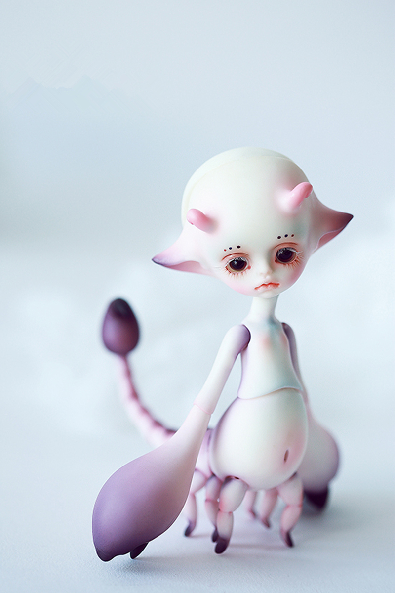 AQK(AQK) BJD DZ 1/8 small scorpion BJD doll Free eyes цена