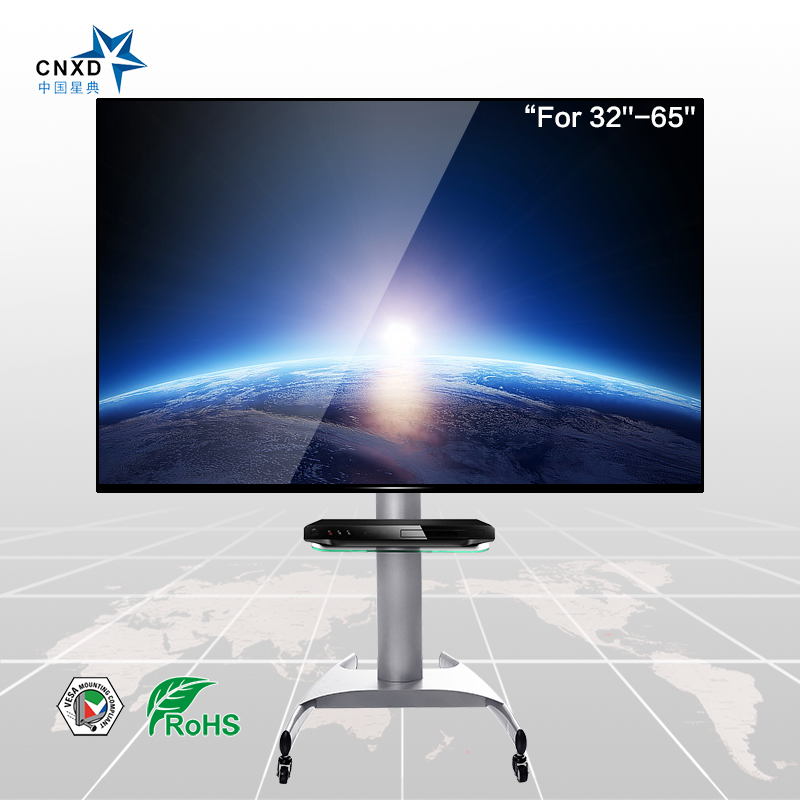 Cnxd Plasma Flat Panel Tv Floor Stand With Universal Mount Suitable For 32 65 Cabinets Furniture