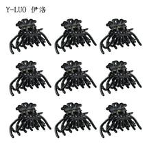 Women headwear small cute hair clips for girls korean claws 9 pcs/pack black accessories women