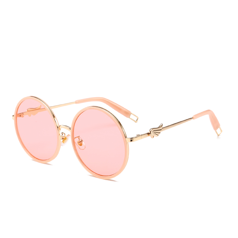 ac6f825ead8d Suprehot Round Double Rim Style Fashion Brand Design Wholesale in China  Factory Women Sunglasses 12432