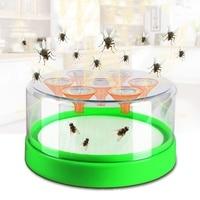 В форме воронки мухоловка, ловушка бытовой автоматический поймать Housefly ловушка для ресторана отеля Крытый борьба с вредителями продукты